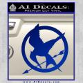 Hunger Games Mockingjay Decal Sticker Blue Vinyl 120x120