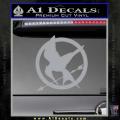 Hunger Games Mockingjay Decal Sticker Grey Vinyl 120x120