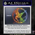 Hunger Games Mockingjay Decal Sticker Spectrum Vinyl 120x120