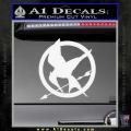Hunger Games Mockingjay Decal Sticker White Vinyl 120x120