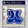 Hurley 3D Decal Sticker Blue Vinyl 120x120
