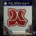 Hurley 3D Decal Sticker DRD Vinyl 120x120