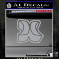 Hurley 3D Decal Sticker Grey Vinyl 120x120