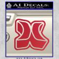 Hurley 3D Decal Sticker Red Vinyl 120x120