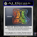 Hurley 3D Decal Sticker Spectrum Vinyl 120x120