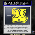 Hurley 3D Decal Sticker Yellow Vinyl 120x120