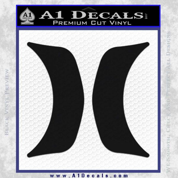 Hurley Pro Vinyl Decal Sticker