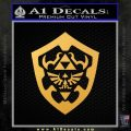 Hylain Shield Oot D1 Decal Sticker Gold Vinyl 120x120