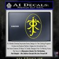 J. R. R. Tolkien Monogram Jrr Self Designed D1 Decal Sticker Yellow Laptop 120x120