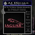Jaguar Logo RR Decal Sticker Pink Emblem 120x120