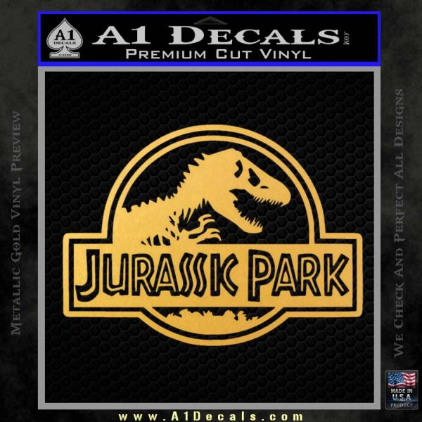 Jurassic Park Title Decal Sticker 187 A1 Decals