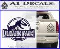 Jurassic Park Title Decal Sticker PurpleEmblem Logo 120x97