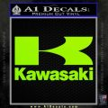 Kawasaki Full Decal Sticker Lime Green Vinyl 120x120