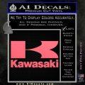 Kawasaki Full Decal Sticker Pink Emblem 120x120