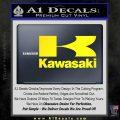 Kawasaki Full Decal Sticker Yellow Laptop 120x120