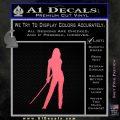Kill Bill Black Mamba D1 Decal Sticker Pink Emblem 120x120