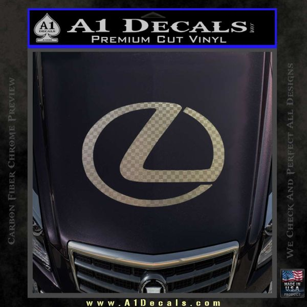 Lexus Decal Sticker Logo  A Decals - Lexus custom vinyl decals for car