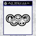 Magic The Gathering Olympics D2 Decal Sticker Black Vinyl 120x120