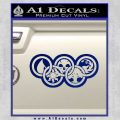 Magic The Gathering Olympics D2 Decal Sticker Blue Vinyl 120x120