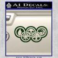 Magic The Gathering Olympics D2 Decal Sticker Dark Green Vinyl 120x120