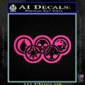 Magic The Gathering Olympics D2 Decal Sticker Pink Hot Vinyl 120x120