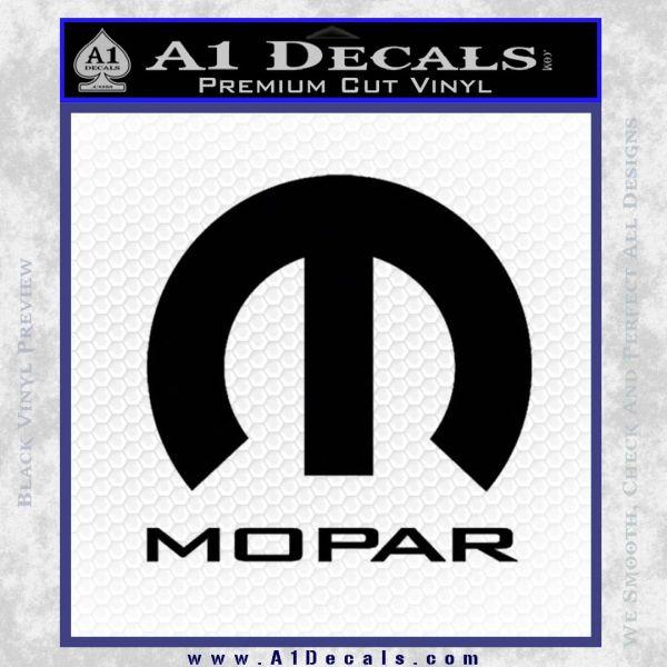 Mopar Full Decal Sticker » A1 Decals