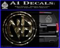 N.A. Narcotics Anonymous Decal Sticker D1 3DChrome Vinyl 120x97