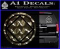 NA Narcotics Anonymous Circle D2 Decal Sticker 3DChrome Vinyl 120x97