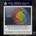 NA Narcotics Anonymous Circle D2 Decal Sticker Glitter Sparkle 120x120