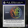 Na Narcotics Anonymous Single Circle D1 Decal Sticker Glitter Sparkle 120x120