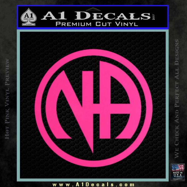 Na Narcotics Anonymous Single Circle D1 Decal Sticker 187 A1
