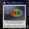 Narcotics Anonymous Na Euro D2 Decal Sticker Glitter Sparkle 120x120