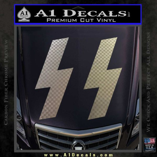 Nazi Ss Decal Sticker 187 A1 Decals