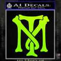 Scarface Tony Montana Crest Decal Sticker 13 120x120