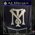 Scarface Tony Montana Crest Decal Sticker 14 120x120