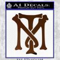 Scarface Tony Montana Crest Decal Sticker 20 120x120