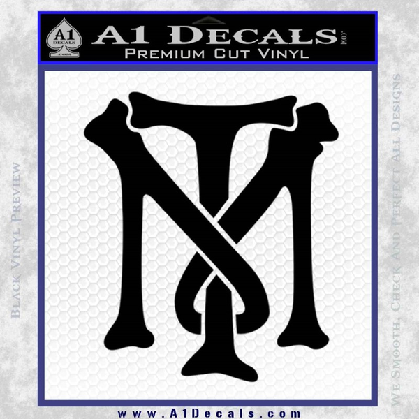 Scarface Tony Montana Crest Decal Sticker A1 Decals