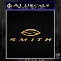Smith Optics Decal Sticker Gold Metallic Vinyl 120x120