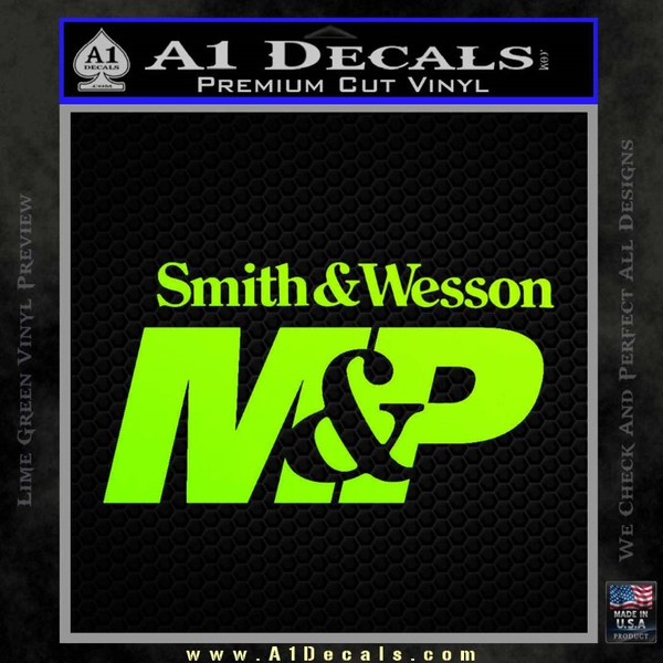 Smith Amp Wesson M Amp P Decal Sticker 187 A1 Decals