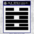 Snake Eyes Clan Logo D2 Decal Sticker Black Vinyl 120x120