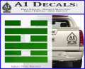Snake Eyes Clan Logo D2 Decal Sticker Green Vinyl 120x97