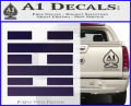 Snake Eyes Clan Logo D2 Decal Sticker Purple Vinyl 120x97