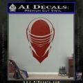 Snake Eyes GI Joe Helmet Decal Sticker DRD Vinyl 120x120