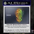 Snake Eyes GI Joe Helmet Decal Sticker Spectrum Vinyl 120x120