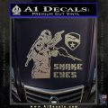 Snake Eyes GI Joe Ninja Decal Sticker rr Decal Sticker Carbon FIber Chrome Vinyl 120x120