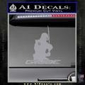 Snake Eyes GI Joe Sword Decal Sticker Grey Vinyl 120x120