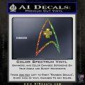Startrek Medical New Movie Decal Sticker Glitter Sparkle 120x120