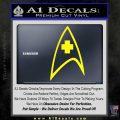 Startrek Medical New Movie Decal Sticker Yellow Laptop 120x120