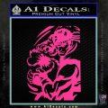 Street Fighter Ryu Fireball Decal Sticker Pink Hot Vinyl 120x120