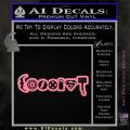 Superhero Coexist D2 Decal Sticker Soft Pink Emblem 120x120